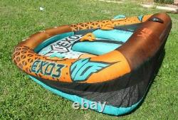 1 2 or 3 Person Towable Tube Water Raft HO Sports EXO 3