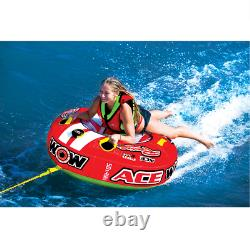 1 Person Ace Racing Tube Towable Water Tubing Inflatable Pool Lake Water