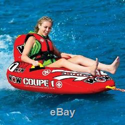 1P Coupe Cockpit Towable Tube WOW Watersport Water Toys for Boats Secure Seating