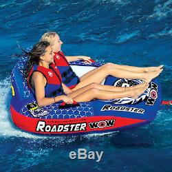 2-Person Lake Sea Swimming Pool Tube Towable Outdoor Summer Water Sport Rider
