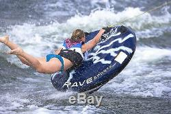 2 Person Towable Inflatable Tube Float Water Sport Boat Raft Tubing Ski Fun NEW