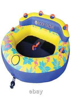2 Person Water Skiing Inflatable Towable Tube