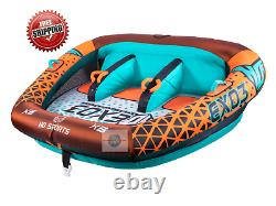 3 Person Seated Towable Raft Float Water Sports Boat Inner Tube Inflatable Tow
