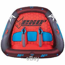 3 Person Towable Raft Float Water Sports Boat Boating Tube Inflatable Tow Tubing