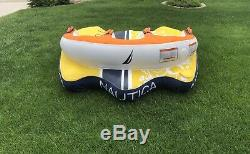 3 Person Towable Raft Float Water Sports Boat Inner Tube Inflatable Tubing