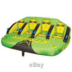 4 Person Boat Towable Raft Water Sports Inner Tube Inflatable Float Tow Tubing
