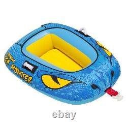 Airhead 4-Person Sea Monster Towable Water Tube Free Domestic Shipping