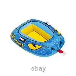 Airhead 4-Person Sea Monster Towable Water Tube with Kwik Connect Tow System