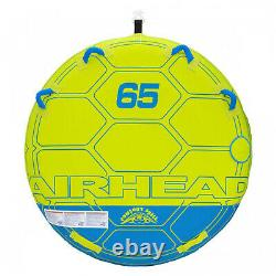 Airhead AHCS-65 Comfort Shell Deck Water Tube 65in. Towable Inflatable 2 Riders