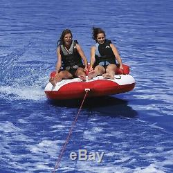 Airhead AHRT-12 Riptide 2 Water Boat Tube 2 Riders Towable Inflatable