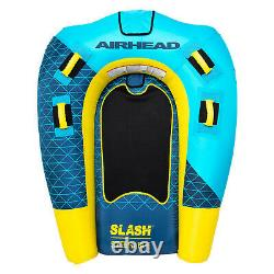 Airhead AHSL-32 Slash Inflatable Double Rider Towable Water Boat Tube Toy