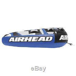 Airhead AHSSL-32 Super Slice Water Boat Tube Inflatable 3 Riders Towable