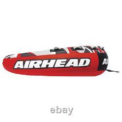 Airhead AHSSL-42 Mega Slice Water Boat Tube Inflatable 4 Riders Towable