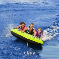 Airhead Comfort 75 3 Rider Inflatable Towable Boating Water Tube (Open Box)