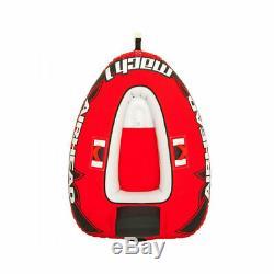 Airhead Mach 1 Inflatable Single Rider Towable Water Lake Ocean River Tube