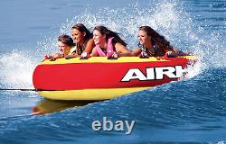 Airhead Mega Slice Towable Tube Ski, Boat, Jetski Inflatable Water Sport