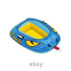 Airhead Sea Monster Towable Water Tube with Kwik Connect Tow System (Open Box)