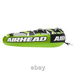 Airhead Slice Inflatable Double Rider Towable Lake Tube Water Raft (Open Box)
