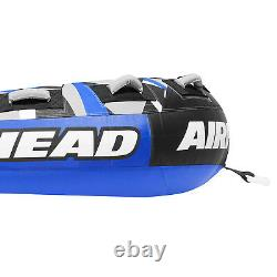 Airhead Super Slice Inflatable Triple Rider Towable Tube Water Raft (2 Pack)