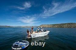 Airhead Super Slice Inflatable Triple Rider Towable Tube Water Raft AHSSL-32