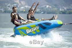 Big Glider Towable Inflatable Water Tube 4 Boating Tube Lake Beach River Snow