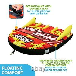 Big Sky Whiplash Water Towable Tube for 1-4 People