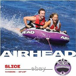 Boating Airhead Super Slice Towable Water Tube 2 Person Rider ahssl-22