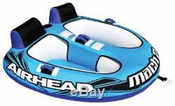 Brand new Kwik-Tek AHM2-2 Mach 2 Double Inflatable Towable Water Tube (2 Rider)