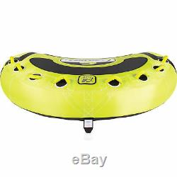 CWB Connelly Convertible 4 Person Large Inflatable Boat Towable Water Inner Tube
