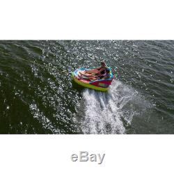 CWB Connelly Super Fun 2 Person 2 Way Inflatable Boat Towable Water Inner Tube