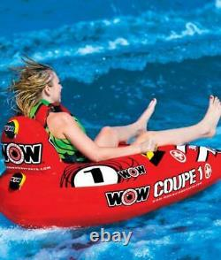 Cockpit Tube Towable Water Ski 1 Person Coupe Inflatable Boat Water Sports Pool