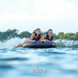 Connelly Double Play 60 Inch 2 Person Inflatable Boat Towable Water Inner Tube