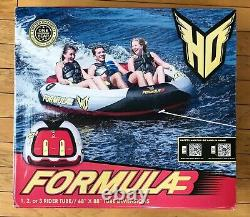 HO SPORTS Formula 3 Water Tube (#86620005) 1, 2 or 3 Riders Seated Towable