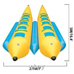 Inflatable Banana Boat 10 Rider Inflatable Water Tube Towable Island Hopper Sled