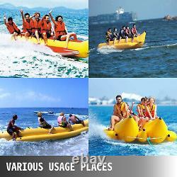 Inflatable Banana Boat 5 Rider Inflatable Water Tube Towable Island Hopper Sled