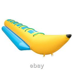 Inflatable Banana Boat 6 Rider Inflatable Water Tube Towable Island Hopper Sled