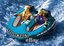 Inflatable Boat Towable Water Tube 2 Person New Ski Tow Raft Float Tubing Sport
