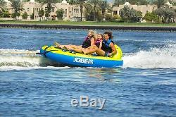 Large 3 Person Jobe Sea-Esta Towable Inflatable Craft/Water Sports Tube/Sunroof