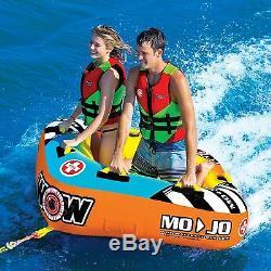 Mojo 1-2 P towable water-ski tube NEW 2016 deck/cockpit tube 16-1060 WOW