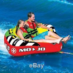 Mojo 1-3 P towable water-ski tube NEW 2016 deck/cockpit tube 16-1070 WOW