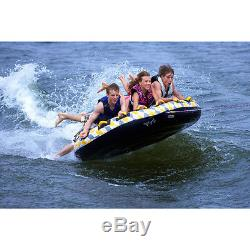 NEW 4 Person Towable Inflatable Tube Float Water Sport Boat Raft Tubing Ski