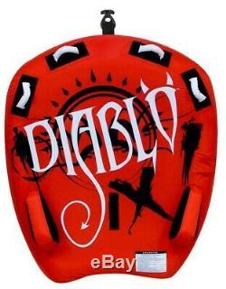 NEW Rave Sports 02318 Diablo II Water Boat Towable Tube Ski Sled with Warranty