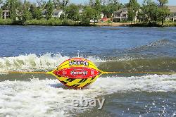 NEW Towable Booster Tube Sportsstuff Ball Tubes For Boating 4K 4 Ropes Water Tow