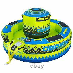 O'Brien Sombrero 4 Person Inflatable Towable Boating Water Sports 88 Inch Tube