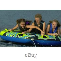 O'brien Watersports Lowrider 3 Person Inflatable Boat Towable Water Ski Tube