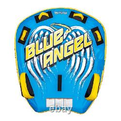 RAVE Sports Blue Angel 2 Person Rider Towable Boat Water Tube Raft (Open Box)