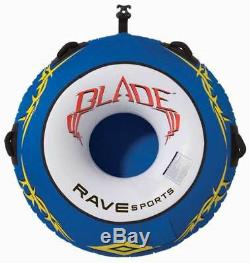 Rave Sports 02262 Blade 1 Person Boat Towable Water Tube Ski Sled with Warranty