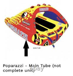 SPORTSSTUFF! Main TUBE ONLY! 53-1750 Poparazzi Inflatable Towable Water Tube
