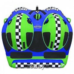 SportsStuff High Roller 2 Rider Inflatable Water Tube Boat Tow Towable 53-3020