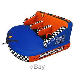 Sportsstuff 53-3003 Super Betty Towable 3 Riders Inflatable Water Tube